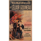 "Original Vintage French Poster for ""Prolongation L'Elixir"" by Oge ca. 1892"