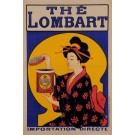 "Original French Vintage Poster Advertising "" THE LOMBART"" by OGÉ"