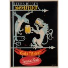 "Original Vintage French Poster for ""Leurs Bieres Sodibo"" Beer by LeMaire 1930's"