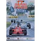 """Original Vintage Italian Race Poster for """"Gran Premio di San Marino No. 17"""" 1998"""