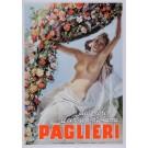 "Original Vintage Italian Poster ""Paglieri"" by Boccasile 1930's"