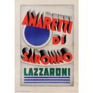 Original Italian Poster for Amaretti di Saronno by Marchesi