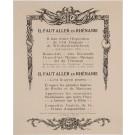 "Original Vintage French Travel Poster ""IL FAUT ALLER EN RHENANIE"" ROGER BRODERS"