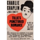 "Original Charlie Chaplin Movie Poster ""Tillie's Punctured Romance"""