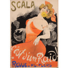 "Original Vintage French Poster ""C'est d'Un Raid - Scala"" by Grun 1902"