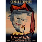 "Original Charlie Chaplin Movie Poster ""Limelight"" by Jean Mascii 1952"