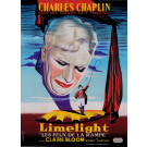 "Original French Charlie Chaplin Movie Poster ""Limelight"" 1952"