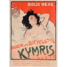 "Original Vintage French Poster ""Kymris"" by Grun 1898"