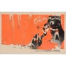 "Original Vintage French Poster ""La Chanson de Montmarte"" by Grun 1899"