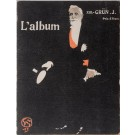 "Original Vintage French Magazine of Lithographs ""L'album"" by Grun 1902"
