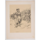 "Original French Litho ONLY L'Estampe Moderne N.24 ""Valmy"" by Adolphe WILLETTE"