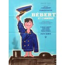 "Original Vintage French Movie Poster ""Bebert et l'Omnibus"" by Savignac 1963"