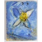 Marc Chagall Le Message Biblique Including an Original Lithograph 1972