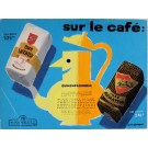 "Original  Advertising Poster Maquette for ""CAFE ARMATEUR"" ,Original."