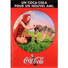 "Original Vintage French Advertising Poster for  ""Coca Cola"""
