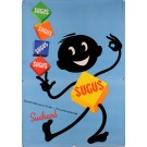 Original Vintage French Poster for Sugus by Suchard