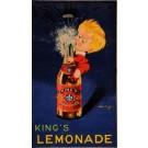 Original Vintage French Poster for King's Lemonade