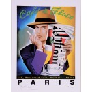"""Limited Ed. Hand Signed Print for """"Cafe de Flore"""" by Razzia 151/995"""