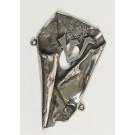 Modern Silver Mezuzah by The Famous Silversmith Eli Gera