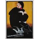 "Italian Advertising Poster ""Maserati"" Car by Graua"