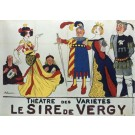 Original Vintage French Le Sire de Vergy by Adrien Barrére-SOLD AS IS