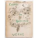 """Vintage Book """"Contes de Boccace"""" (Verve Vol. VI, No. 24) First Edition"""