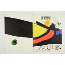 """Derriere le Miroir"" (DLM) no. 193/194 (1971) incl. 2 Original Lithos by J. Miro"