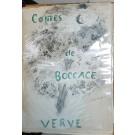 Contes de Boccace (Verve Vol. VI, No. 24)  First Edition.