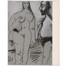 "2 lithographs from the portfolio ""Au Baiser d'Avignon"" limited 350 copies"