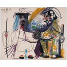 """1 Color lithographs from the portfolio """"Au Baiser d'Avignon"""" limited 350 copies"""