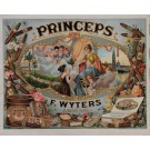 "Original Vintage French Poster for ""Princeps"" Cigars"