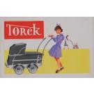 "Original Vintage Belgian Poster for ""Torck"" Pram"
