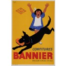 "Original Vintage French Poster for ""Confitures BANMNIER'"