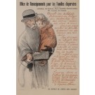 Original Vintage Poster for Office de Renseignements Pour les Famille Dispersees