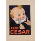 "Original French Maquette ""Lame Cesar"" by Dorfi"
