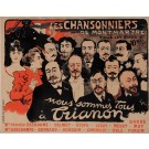 Original Vintage French Poster for Entertainment by Oge ca. 1895