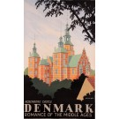 Original Vintage Travel Poster to advertise Denmark