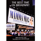"French Vintage French Poster To Advertise The Musical on Broadway ""Mamma Mia"""