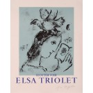 """ELSA TRIOLET"",  Original Lithograph on Arches Paper  numbered 58/200 and signed.    edition of 200  printer: Mourlot, Paris  in good condition"