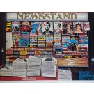 "Ken Keeley (1934-) - ""Newsstand"", hand-signed limited edition serigraph"