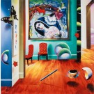"""Ferjo  """"The Circus"""" 2006  Hand Signed Giclee on Canvas by Ferjo"""
