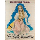 Original vintage French Poster for Jacqueline Paganol