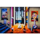 """FERJO  """"Journey-To-Paradise"""" 2006 Hand Signed Giclee on Canvas by Ferjo"""
