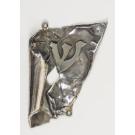 Modern Silver Mezzuza by The Famous Silversmith Eli Gera