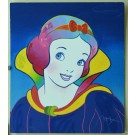 "Limited Edtion Serigraph ""Snow White"" Disney PETER MAX Hand Signed"