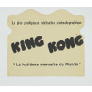 French Card for the Movie King Kong