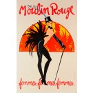 "Original French Vintage poster ""Bal du Moulin Rouge"" by GRUAU"