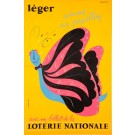 French Poster Loterie Nationale  - LE´GER by Dufour ca. 1970