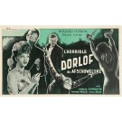 Original Vintage French Poster advertising the Movie L'horrible ORLOFF 1962
