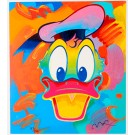 """Original Vintage Serigraph 337/500 """"Donald Duck"""" by Peter Max Hand Signed 1994"""